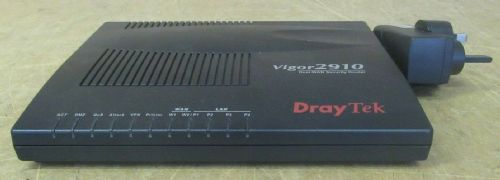 Draytek Vigor 2910 Dual-WAN 4 - Port Security VPN Router Ethernet Firewall